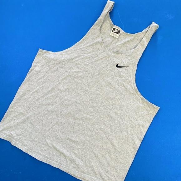 4b6dd012 Nike Shirts   Vintage Swoosh Gray Tank Top Shirt Mens Xl   Poshmark
